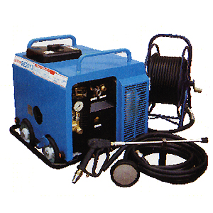 【大特価!!】 【】 【フルテック】簡易防音型高圧洗浄機 GE2013(30D標) 30mホースドラム付!ケレン・ハツリ作業に最適! ※こちらの商品はメーカーより直送の為、きです:テクノネットSHOP-DIY・工具