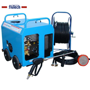 【代引不可】 【フルテック】GE160sdi(30D標) 簡易防音型高圧洗浄機 ガソリンエンジン式 スローダウン機能付で更に静音・省エネ!! ※こちらの商品はメーカーより直送の為代引き不可です。