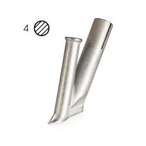 【LEISTER】(ライスター) [105.432] 熱風溶接機アクセサリー ウルトラスピードノズル 4mmφ (5mmφノズル差込式)