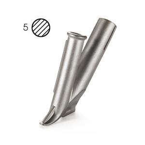 【LEISTER】(ライスター) [105.433] 熱風溶接機アクセサリー ウルトラスピードノズル 5mmφ (5mmφノズル差込式)