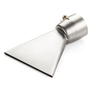 【LEISTER】(ライスター) [107.131] 熱風溶接機アクセサリー 【No.30A9】 80mm平型ノズル アスファルト・シート用 (トリアック/ダイオード用)