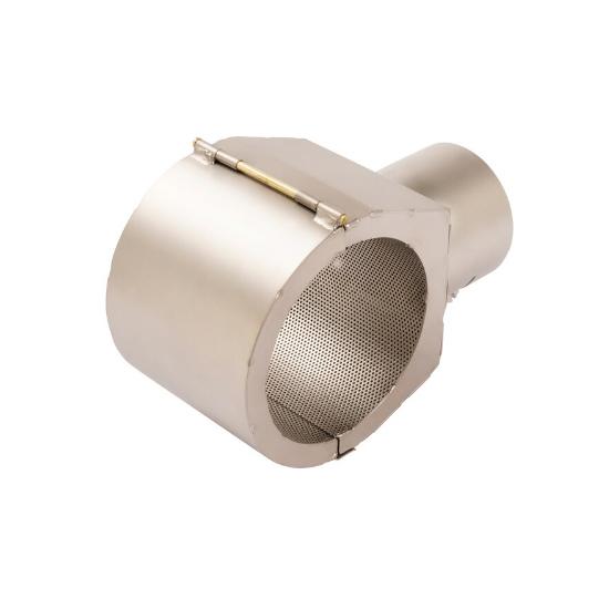 【LEISTER】(ライスター) [107.331] 熱風溶接機アクセサリー 全周反射ノズル 72×70mm エレクトロン用