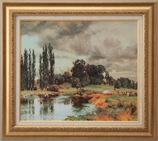 【受注生産品】 【代引不可】 パーソン 【農場風景】 [ac-2503] 世界の名画・高級複製画