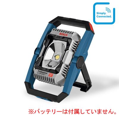 【BOSCH】(ボッシュ) [GLI 18V-2200C] コードレスバッテリー投光器(LED)(本体のみ、バッテリー・充電器は別売)抜群の明るさ2200ルーメンを実現! IP64 屋外使用可能