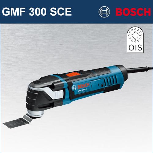 【BOSCH】(ボッシュ) [GMF 300 SCE] カットソー ブレードの交換に工具不要!大型レバーのSDSシステム搭載!