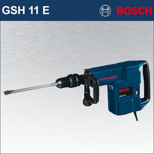 【BOSCH】(ボッシュ) [GSH11 E] SDS-max 破つりハンマー クラス最強の打撃力を備えた破つりハンマー。