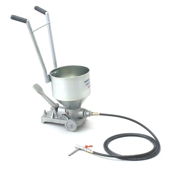 樹脂注入機 足踏式注入器 OKG-10F
