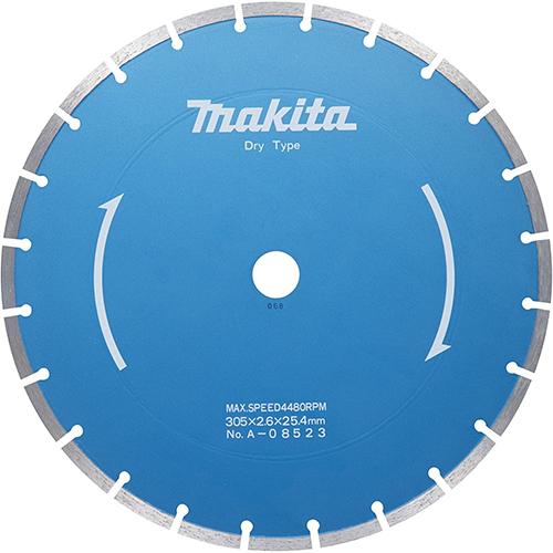 【マキタ makita】 [A-08523] セグメントマルチダイヤモンドホイール 外径:305mmφ マルチダイヤ305 ダイヤ層を柔らかめのボンドで固定。良好な切削感!
