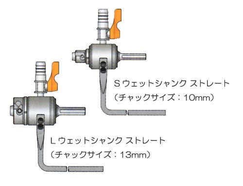 ミヤナガ [PCSKWDLR30] 【湿式】ウェットモンドコアドリル用 Lウェットシャンク300SDS