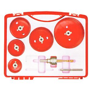 ミヤナガ [SLPMBOX2R] エスロックバイメタルホールソープラマス用ボックスキット(シャンク付き) バイメタルプラマスキット2 SDSプラスシャンク(カッター:φ53、65、95、120 各1本)