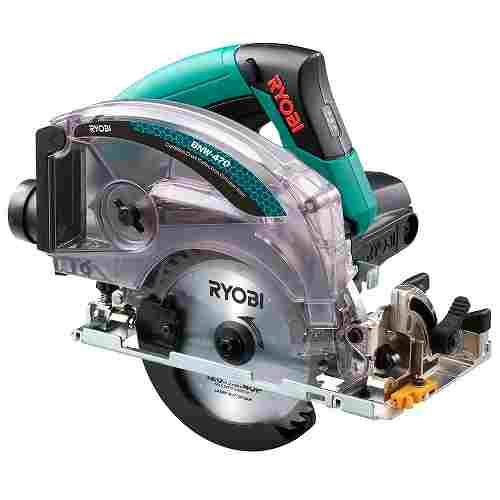 【リョービ】(RYOBI) [612012A] 電動工具 BNW-470 充電式集じん丸ノコ