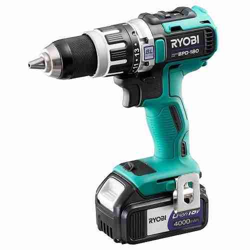 【リョービ】(RYOBI) [688803A] 電動工具 BPD-180 充電式振動ドライバドリル