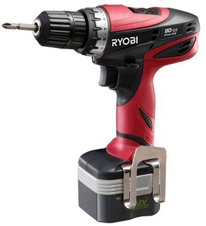 【リョービ】(RYOBI) [647522A] 電動工具 BD-123 充電式ドライバドリル
