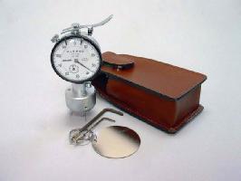 【受注生産品】 マックゲージ 1/100mmまで測定可能な軟質膜厚測定器 (校正証明書付き)