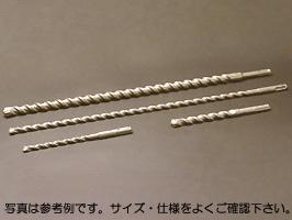 【IKEDA】(イケダ) [DX180166] デッキスビット(SDS-plusシャンク) 18.0φ×166mm (有効長:100mm)(1箱5本入り)