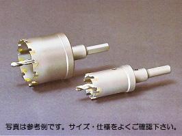 【IKEDA】(イケダ) [TCTL100] T・Cロングホールソー(超硬ホールソー) 100φ TCTL[チップ付きセンタードリル] 【有効長:4mm(ボディの深さ:40mm)】