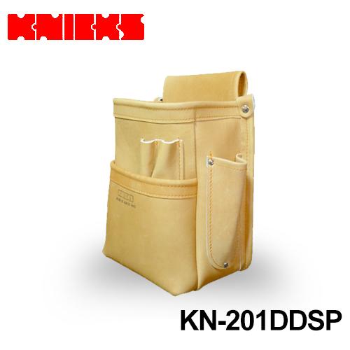 ニックス(knicks) [KN-201DDSP] 総グローブ革2段腰袋