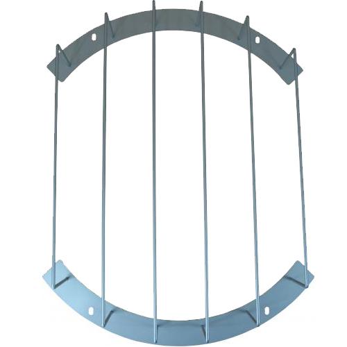 (スチール製) 【PURACO】 [BTC-550P] (プラコー) 時計防球ガード 掛け時計をボールなどから守ります。