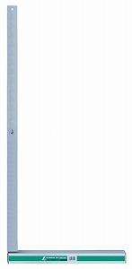 【シンワ】 [74120] アルミ台付スコヤ1m 目盛なし