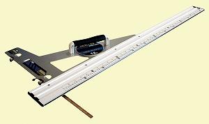 【シンワ】 [77374] 丸ノコガイド定規 エルアングル アジャスト1.2m併用目盛角度調整付
