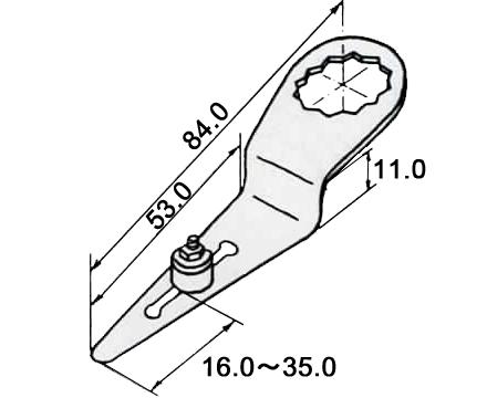 [ドイツ] Fein (ファイン) [63903143013] ストレートブレード (2枚入り) (スペシャルカッター用)