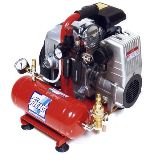[イタリア] フィアック (Fiac) 小型軽量低騒音 エンジンコンプレッサー S1506
