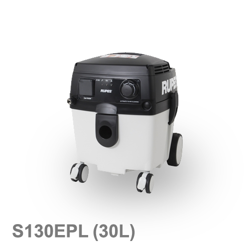 [イタリア] RUPES (ルペス) [S130EPL] 乾湿両用集塵機 電動工具・エアーツール連動式