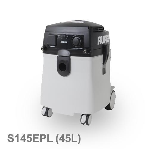 [イタリア] RUPES (ルペス) [S145EPL] 乾湿両用集塵機 電動工具・エアーツール連動式