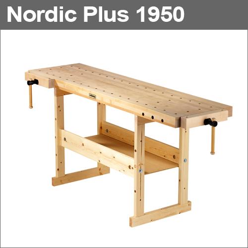 【上品】 Plus 1950 [No.33450]:テクノネットSHOP [スウェーデン] ショーベリ (Sjobergs) プロ仕様の木工作業台 Nordic-DIY・工具