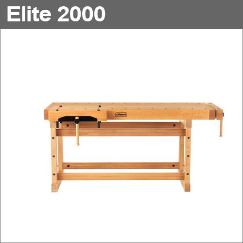 [スウェーデン] ショーベリ (Sjobergs) プロ仕様の木工作業台 Elite 2000 [No.33458]