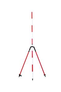 バイポッドL (ケース付き)脚伸縮:1120~1850mm【バイポット】【プリズム・GPS・ポール】【測量・土木・建築】【送料無料】