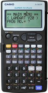 ハイビスカス すぐるくん5800プログラム測量電卓【測量電卓】【ハイビスカス】【測量・土木・建築】【送料無料】
