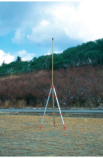 【別売オプション】【ポール】GPS測量用 MGサテライトポール 2m用1mポールのみ MY-PL1【測量・建築・土木用品】【送料無料】