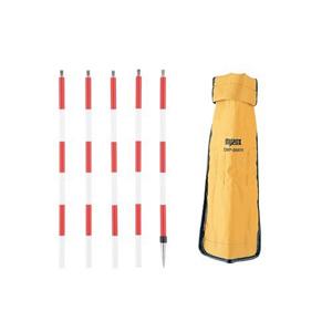 DM用ピンポール (30センチ×5/ステンレス)DMP-9MINI【測量 土木 家屋調査士】【DMポール】【送料無料】
