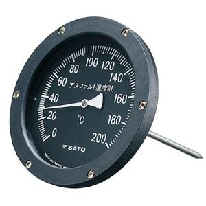 アスファルト用温度計 AT-150K【佐藤計量器】【測量・建築・土木用品】【送料無料】
