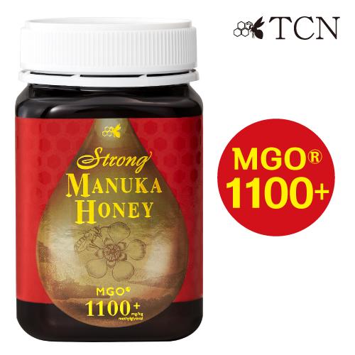 マヌカハニー 最高峰 ストロングマヌカハニー (MGO1100+ 活性強度39+) 500g マヌカ蜂蜜 ハチミツ 蜂蜜 オーガニック ニュージーランド SMN39-500