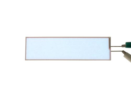 無機ELシート 白色光 3.5cm x 12.7cm バックライト用