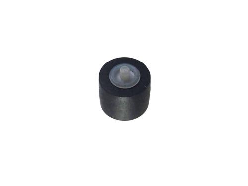 お求めやすく価格改定 カセットデッキ修理パーツ ピンチローラー 外径7mm 幅6.5mm 1個 信託 軸径1.5mm 駆動系消耗パーツ修理交換用 軸付き