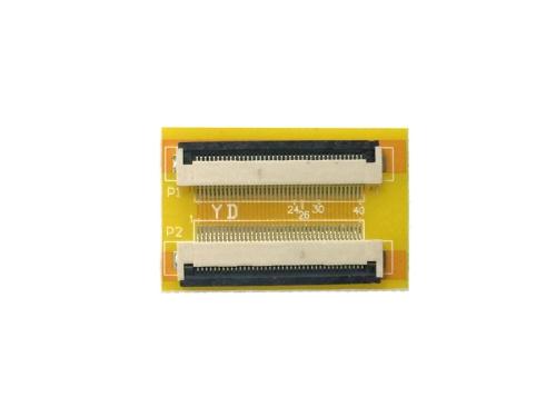 FPC/FFC (40ピン) フラットケーブル 延長基盤 0.5mmピッチ フラットケーブルの延長用に