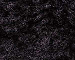 カーリー・ピュアブラック 1/4メートル(約70cm×約50cm)
