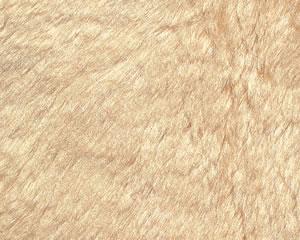 ピュアシルク ライトベージュ(毛足約30mm)  1/2メートル(約70cm×約100cm)