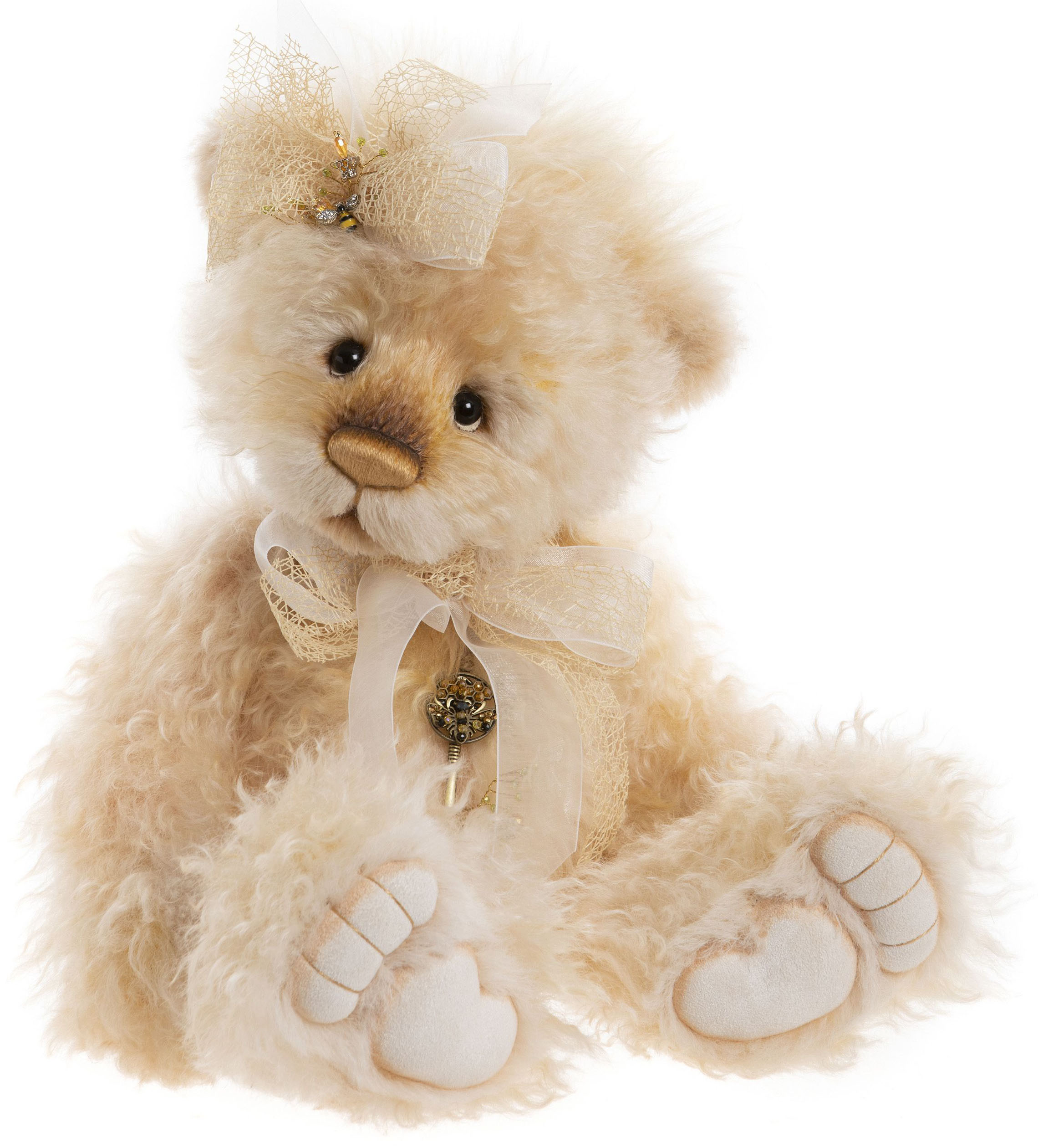近年テディベア業界で大人気の英国メーカー 2020年入荷 Charlie 期間限定送料無料 Bears Masterpiece Isabelle 祝日 チャーリーベアーズ 2020