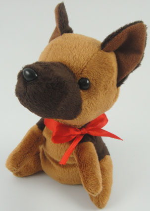 Teddys Stuffed Toy Of Former Police Dog Masa Appearing In The