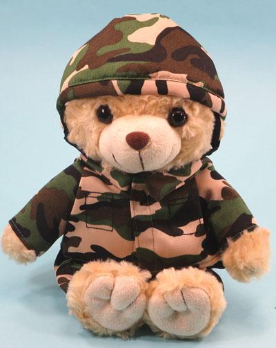 防衛省協力グッズです セール 登場から人気沸騰 防衛省協力商品 いつでも送料無料 鉄帽迷彩ベアぬいぐるみ