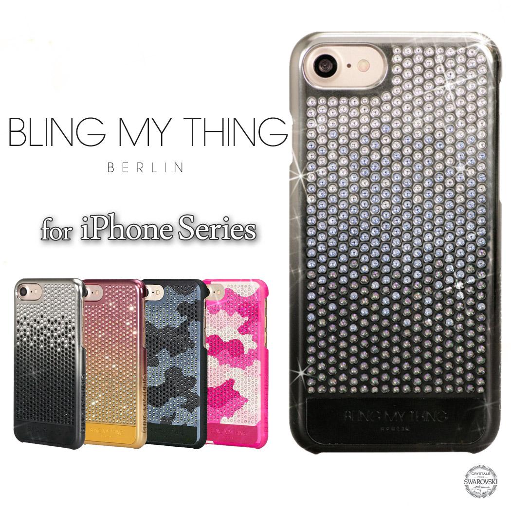 iPhone7 ケース iPhone7 Plus スマホカバー アイフォン7プラス スマホケース レディース Bling My Thing Cascade Brilliant スワロフスキー クリスタルガラス 軽い ポリカーボネート ゴージャス ラインストーン キラキラ 高級感 ハードカバー 女性 スタイリッシュ