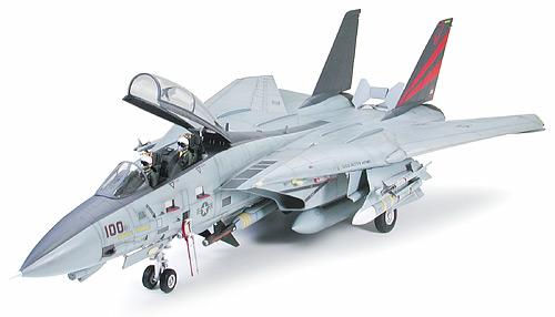 """タミヤ 1/32 エアークラフトシリーズ No.13 グラマン F-14A トムキャット """"ブラックナイツ"""""""