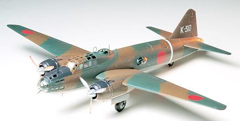 タミヤ 1/48 傑作機シリーズ No.49 三菱 一式陸上攻撃機11型 G4M1