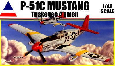 アキュレイトミニチュア 1/48 0012 タスキーギ・エアメン P-51C マスタング