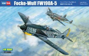 ホビーボス No.81802 1/18 フォッケウルフ Fw190A-5