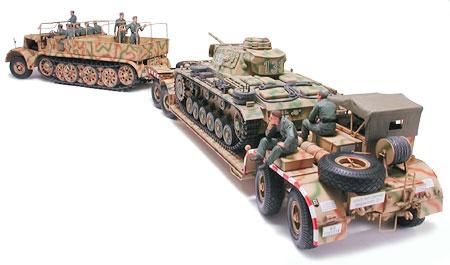 ドイツ 18トン重ハーフトラック 戦車運搬車 タミヤ 1/35 MM246